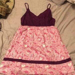 Summer hidden Mickey dress, LARGE